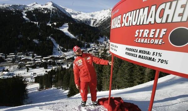 Schumacher victime d'un accident de ski