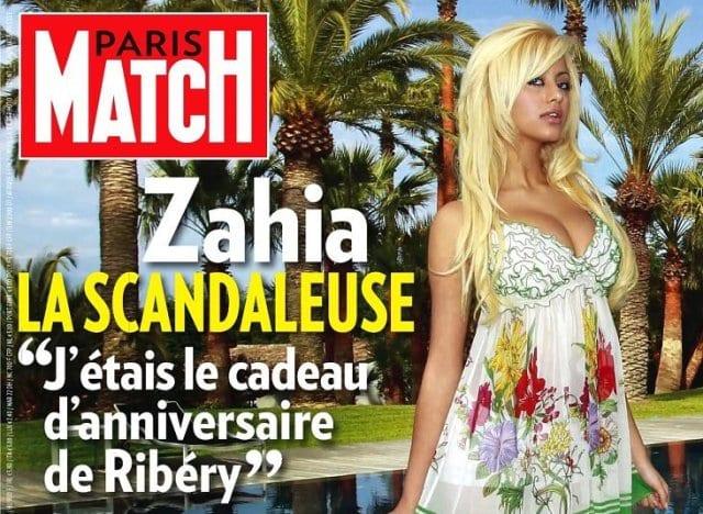 Diaporama: retour sur l'Affaire Zahia, Ribéry et Benzema