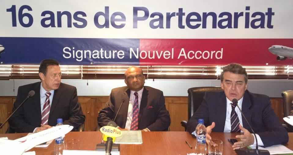Vidéo: Air France et Air Mauritius signent un partenariat  pas «stratégique »