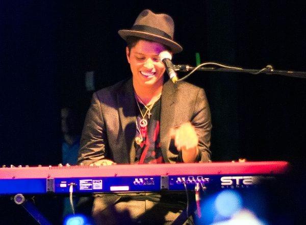 Bruno Mars changera le monde, selon Forbes