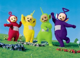 Tous Sali version Teletubbies