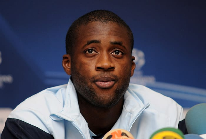 Football : Yaya Touré couronné joueur de l'année en Afrique