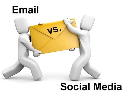 Les mails plus efficaces que Twitter et Facebook
