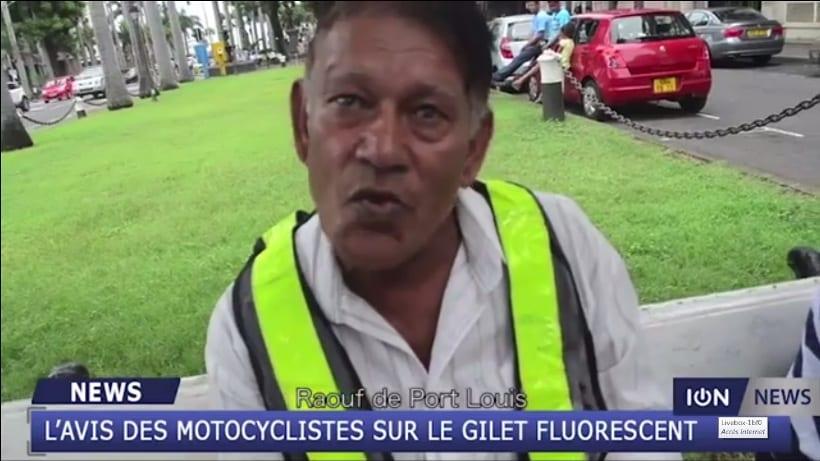 Vidéo : le gilet fluorescent irrite les motocyclistes