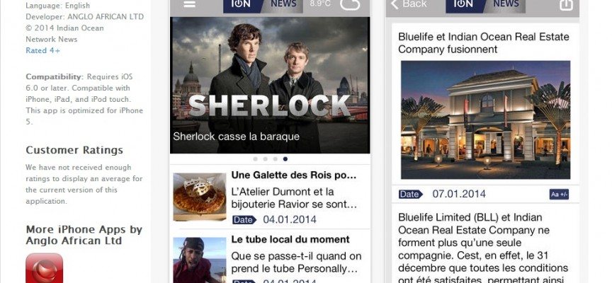 L'app Iphone d'ION News désormais disponible