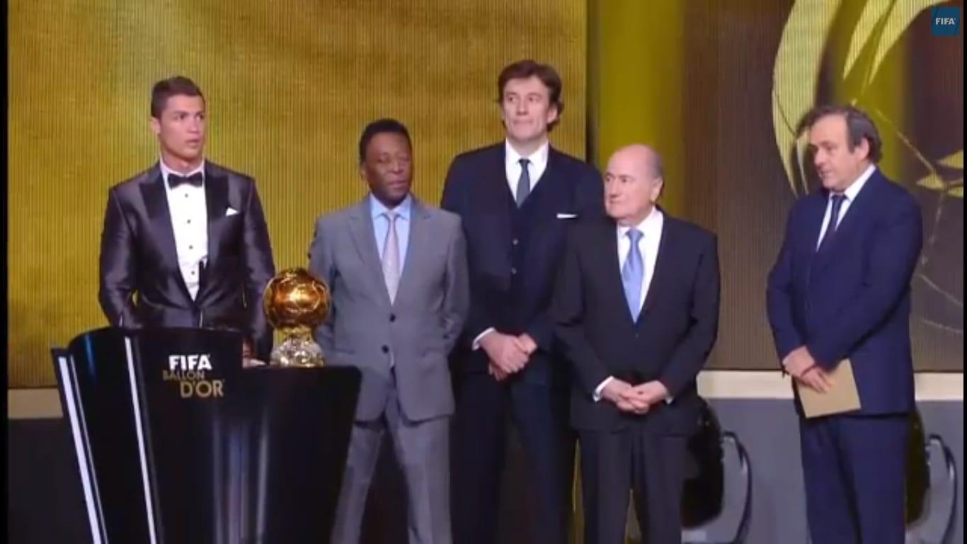 Ronaldo sacré Ballon d'Or 2013 de la FIFA