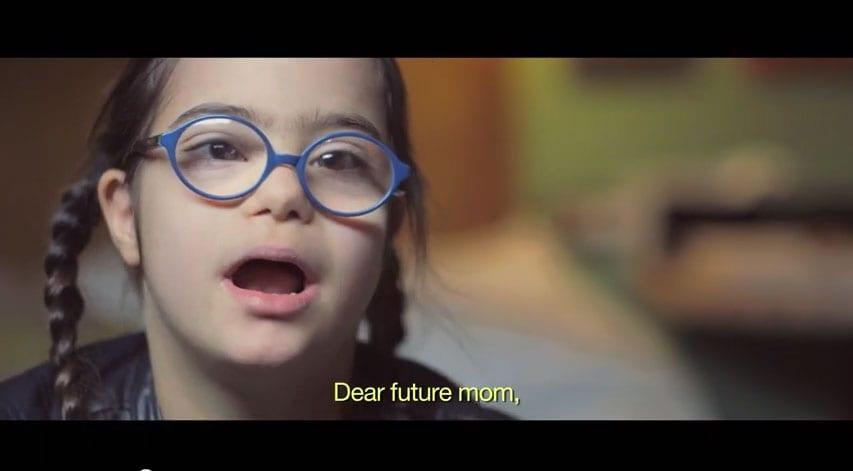 [Vidéo] Chère (future) maman, n'aie pas peur, je suis trisomique