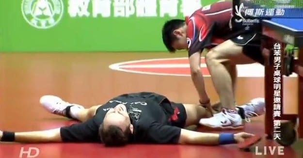 [Vidéo] Qui a dit que le ping-pong était ennuyeux ?