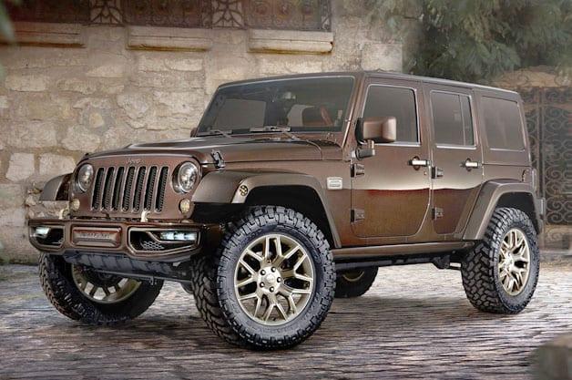 La Jeep Sundancer : le luxe tout terrain