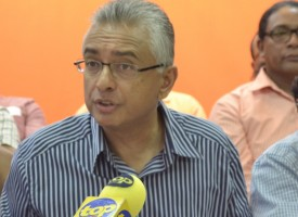 [Vidéo] Pravind Jugnauth : «La question d'être le junior partner du MMM ne se pose pas»