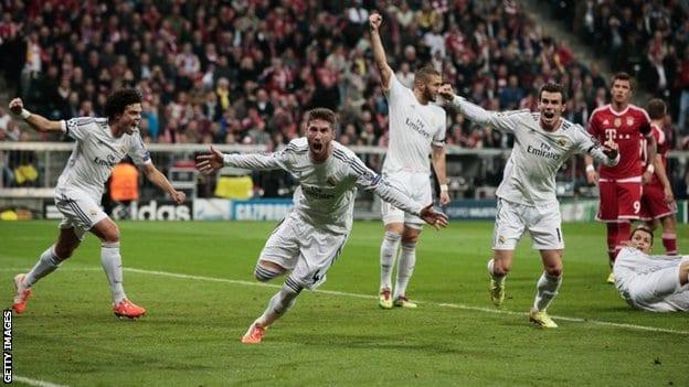 [Champions League] Le Real, royal, terrasse le Bayern Munich en demi-finale