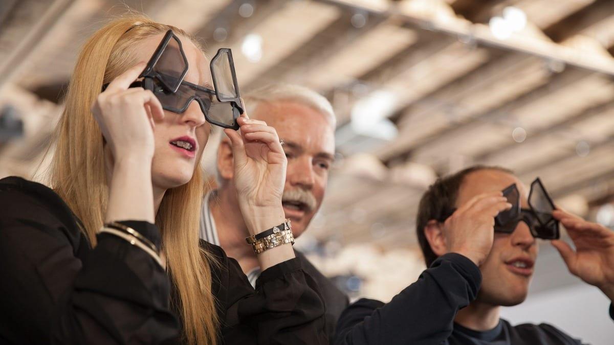 [Vidéo] Les lunettes 3D qui peuvent changer ce que vous regardez