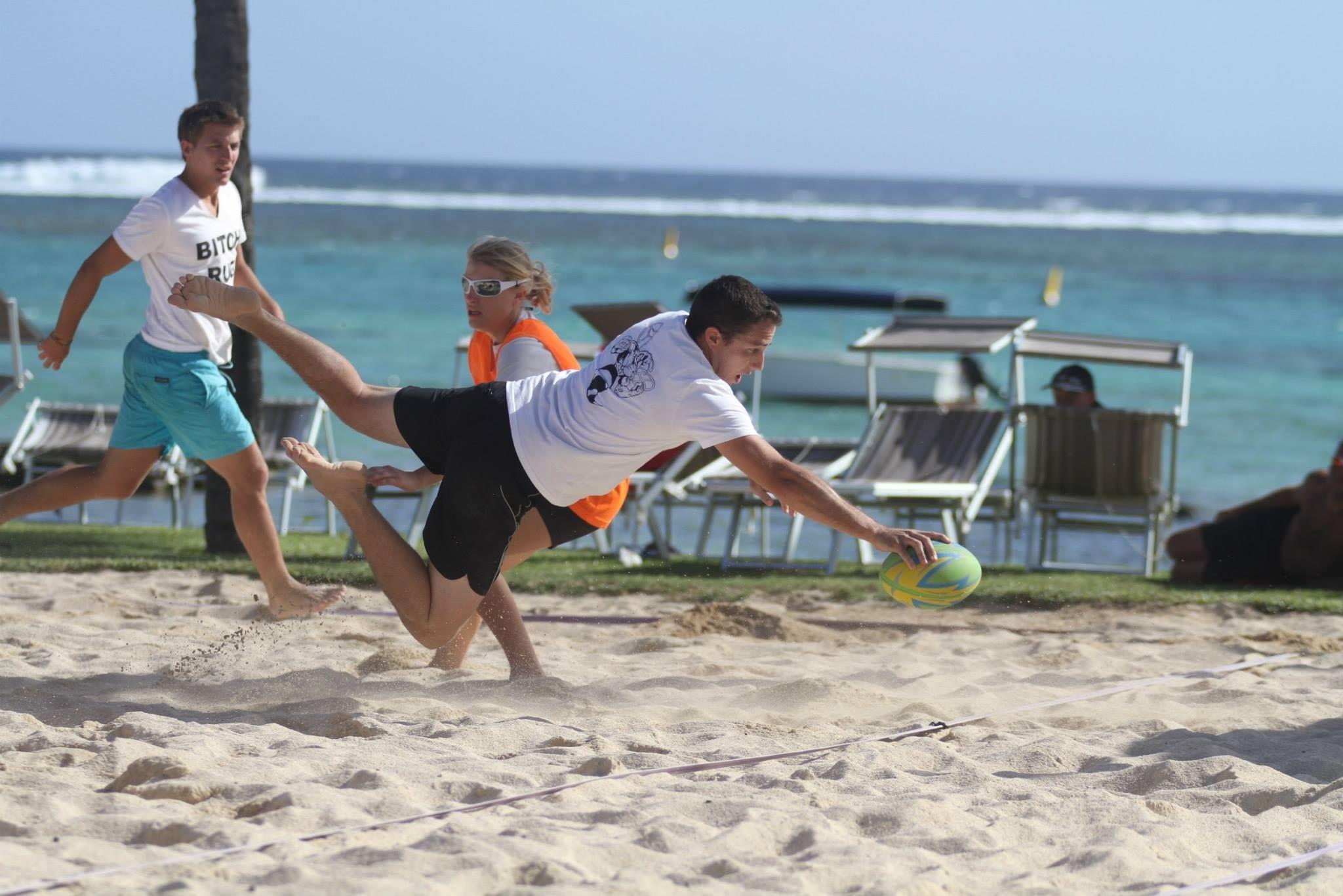 Le beach touch rugby, c'est ce samedi