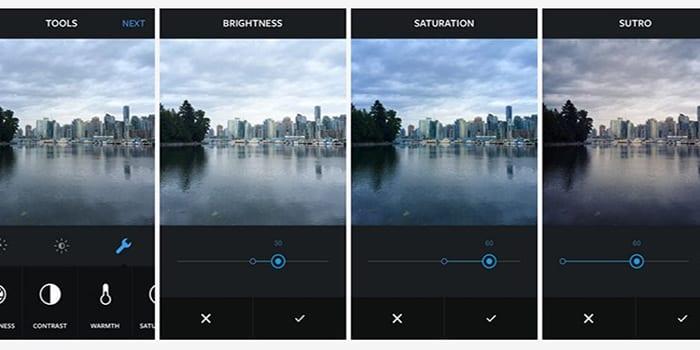 Retouchez vos photos comme des pros sur Instagram version 6