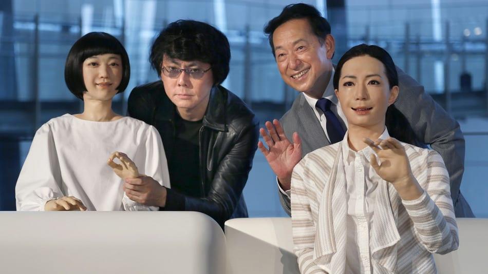 Les guides d'un musée japonais sont des robots