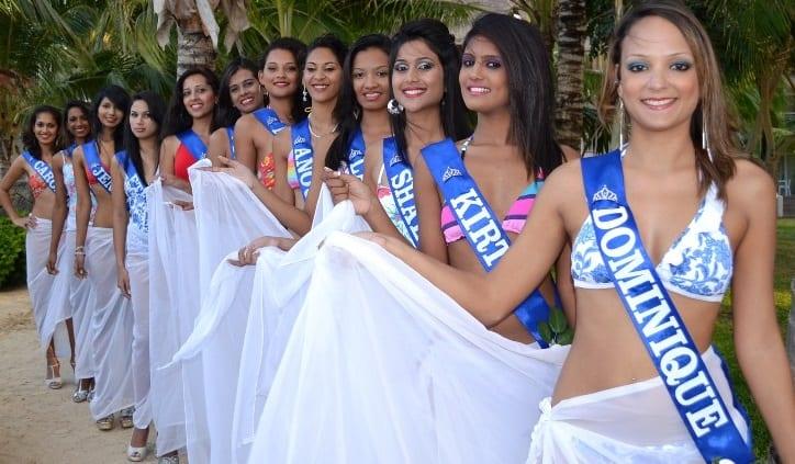 [Diaporama] Fin des préliminaires pour les candidates de Miss Mauritius 2014