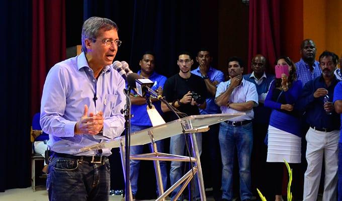[Vidéo] Congrès PMSD: Duval possible candidat des bleus au poste de Premier ministre