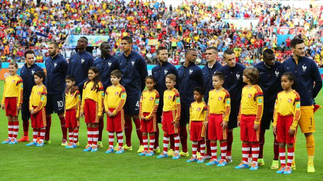 Mondial 2014 : Pas d'hymne pour France-Honduras