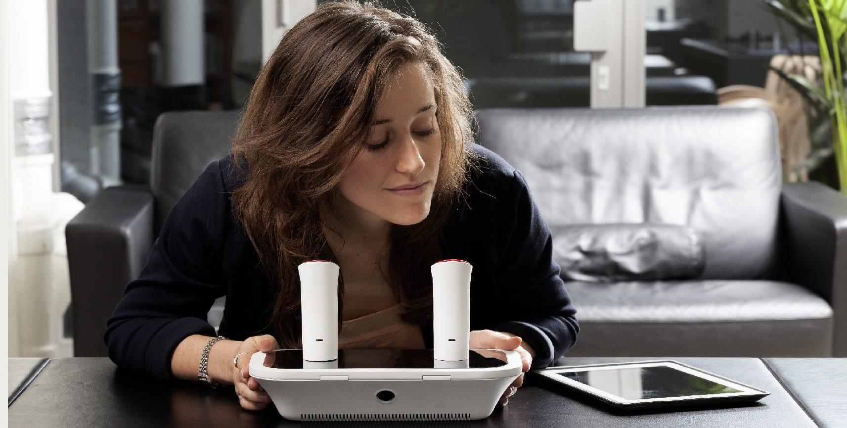 [Vidéo] Partager des odeurs via smartphone? C'est une réalité