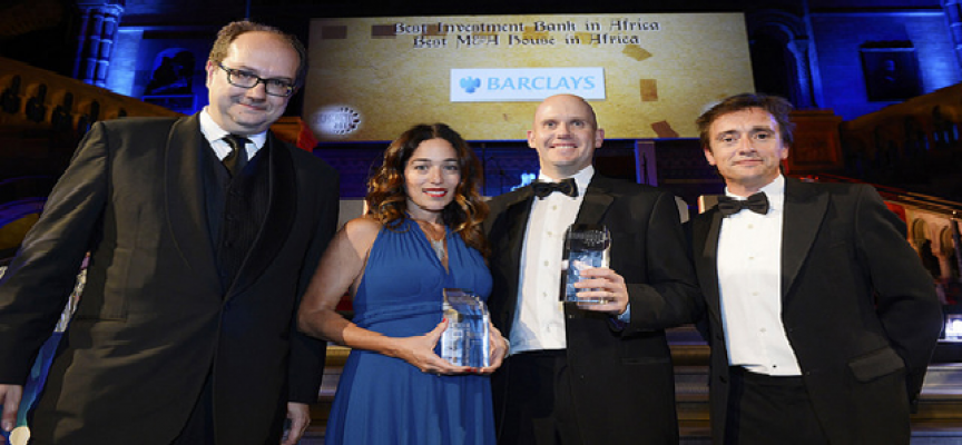 Barclays Africa group named Best Investment Bank & M&A House in the continent