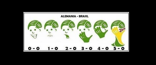 [Diaporama] L'Allemagne royal, le Brésil humilié en demi-finale