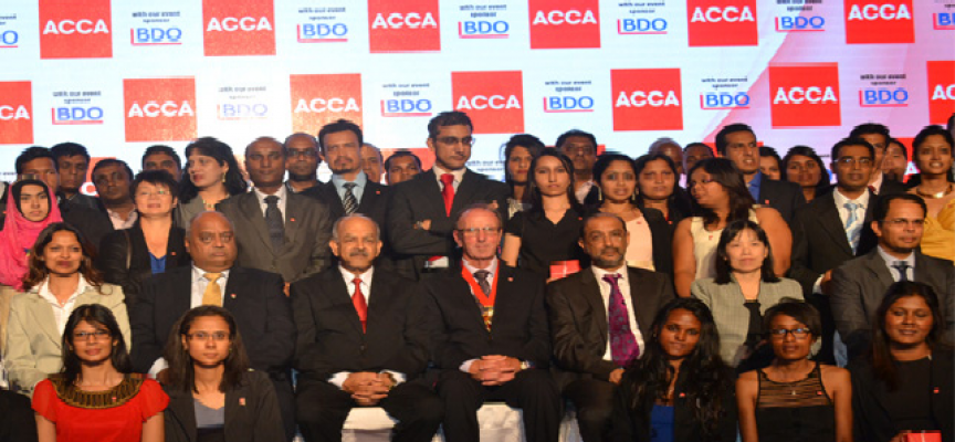 Mauritius: Association of chartered certified accountants (ACCA) greets new members