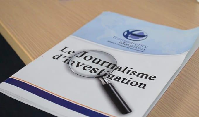 [Vidéo] Transparency Mauritius lance un ouvrage sur le journalisme d'investigation
