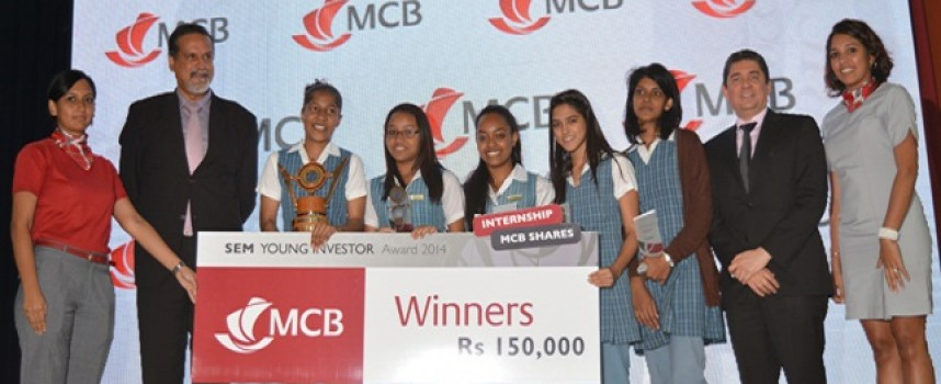 MCB hosts SEM Young Investor Award to educate youth on stock market