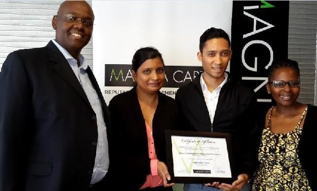Mauritius gains reputation management edge of Pan-African major Magna Carta