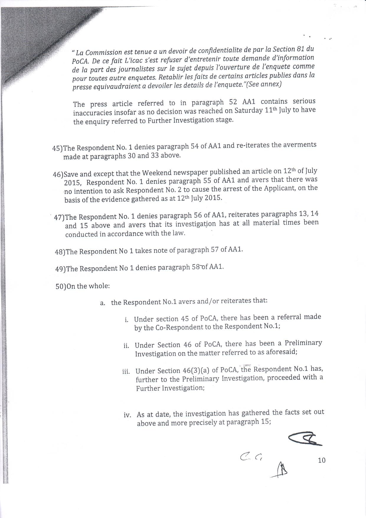 affidavit ICAC boolell 10