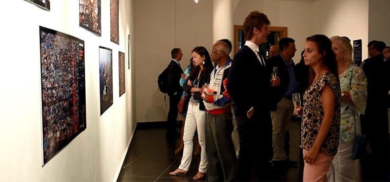 [Vidéo] Expo photos de Yann Arthus-Bertrand pour marquer la Semaine du climat