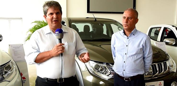 [Vidéo] Leal donne le coup d'envoi de sa représentation de Mitsubishi en lançant la Sportero L200