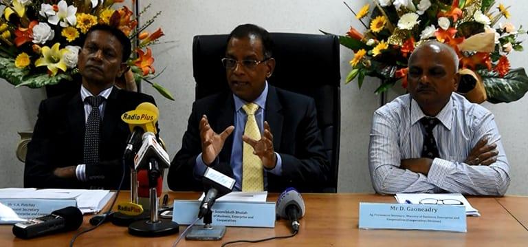 [Vidéo] Bholah annonce un SME Master Plan et salue le «travail formidable» abattu par la SMEDA