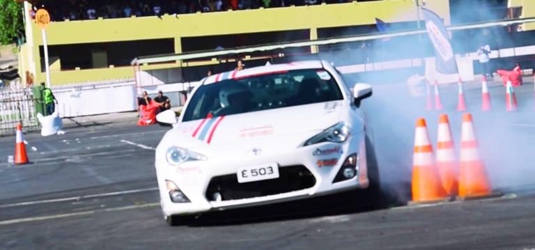 [Vidéo] Red Bull Car Park Drift: Emmanuel d'Hotman conserve son titre