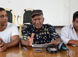 [Vidéo] La Port Louis Harbor and Docks Workers Union réclame l'application du rapport de la Commission de conciliation