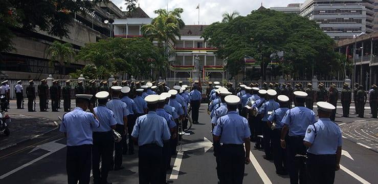 [Vidéo] Les répétitions en cours pour la prestation de serment de Pravind Jugnauth