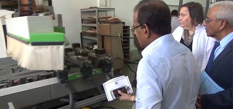 [Vidéo] Bholah demande aux fabricants de meubles de s'intéresser au marché américain