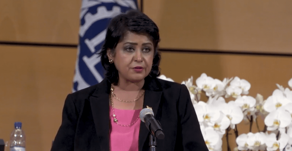 [Vidéo] Travail: Gurib-Fakim plaide pour un meilleur avenir pour les femmes