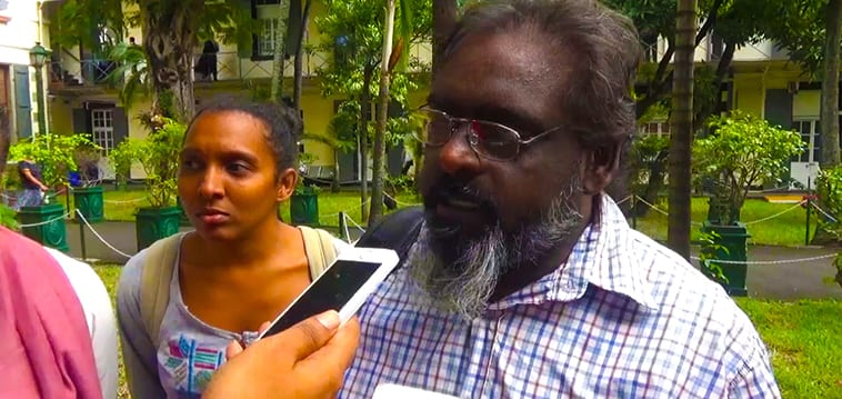 [Vidéo] R&A déplore le manque d'intérêt des partis établis pour la défense de la démocratie