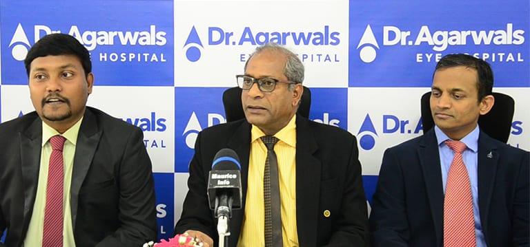[Vidéo] L'hôpital Agarwal table sur de nouveaux types de chirurgies oculaires