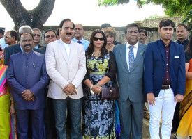 [Video] Bihar and Mauritius to establish an annual exchange program around Bhojpuri and arts