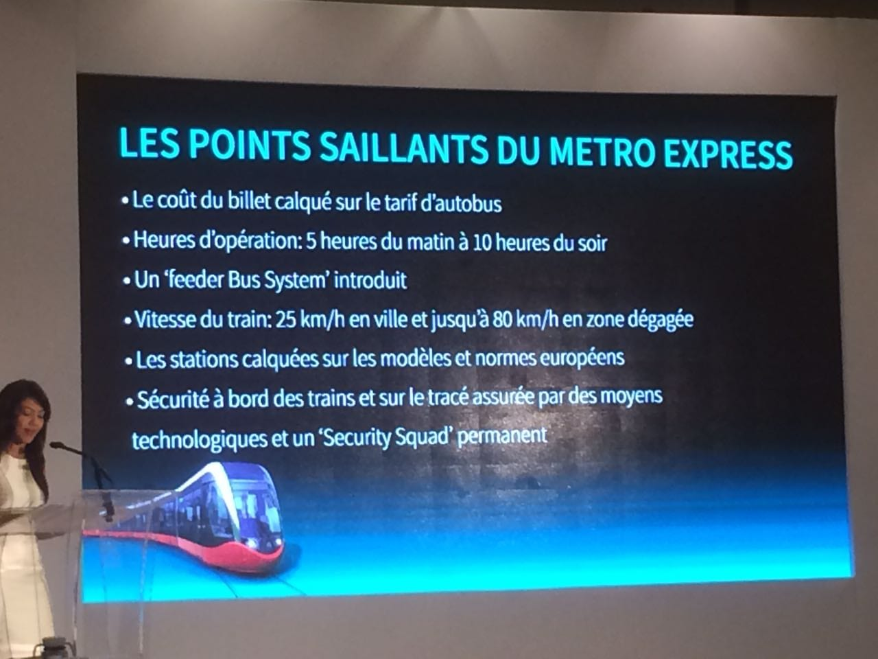 Metro Express - les points saillants 3