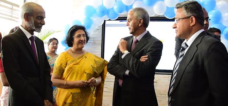 [Vidéo] La SBI Mauritius lance une branche entièrement numérique à Trianon