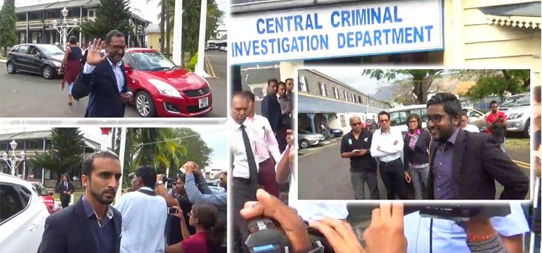 [Vidéo] Sivaramen, Chenney et Denmamode entendus par les enquêteurs du CCID
