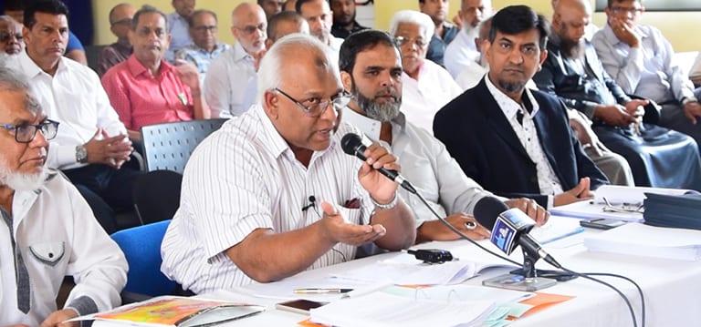 [Vidéo] Des associations musulmanes réclament l'annulation de leurs factures de wastewater