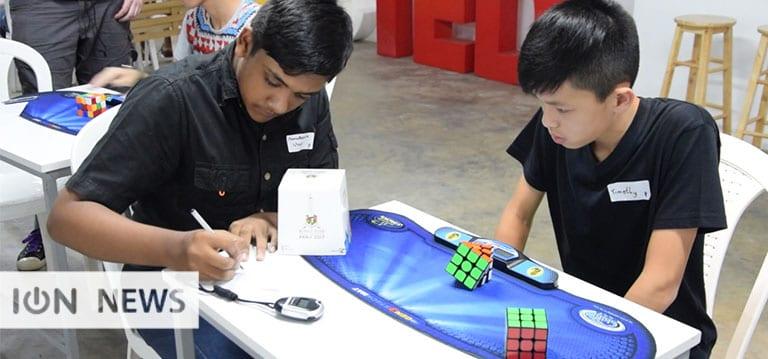 [Vidéo] Les amateurs de Rubik's Cube réunis pour le premier tournoi officiel à Maurice