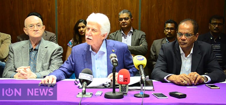 [Vidéo] Chagos: Bérenger salue le «pas en avant» de Jugnauth avec les parlementaires britanniques