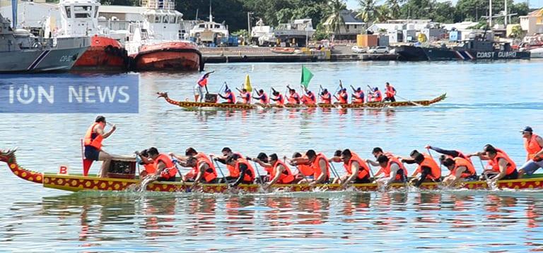 [Vidéo] La 13e édition du Dragon Boat Festival attire la foule à Port-Louis