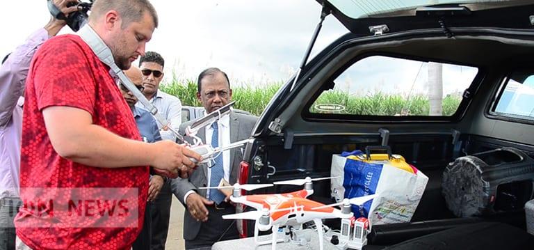 [Vidéo] Maurice teste les drones au service du secteur cannier