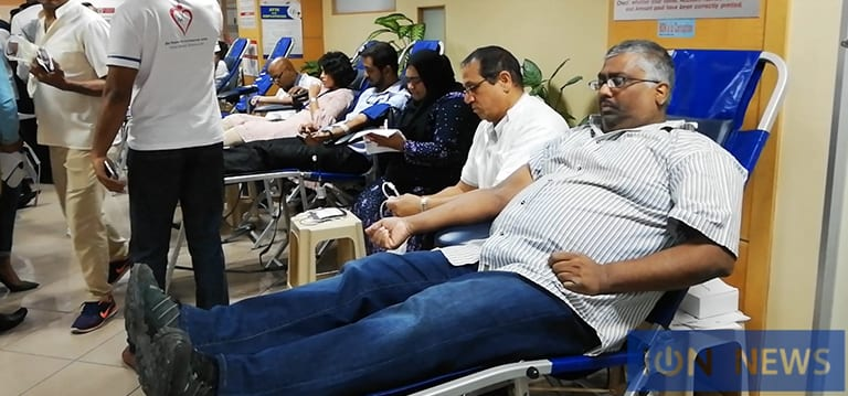 [Vidéo] 14 Mauriciens sur 15 ne donnent pas leur sang, déplore Husnoo